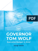 2019-20 Pennsylvania Budget Proposal in Brief