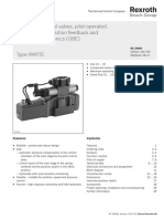 Directional Control Valves, Pilot-operated With Electrical Position Feedback and Integrated Electronics