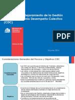 Sistemas Incentivos PMG - CDC MINVU 24.06.14