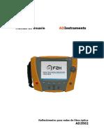 AD3502 Manual de Usuario