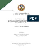 El Perfil Profesional Del Docente de Música de Educación Primaria- Autopercepción de Competencias Profesionales y La Práctica de Aula.docx