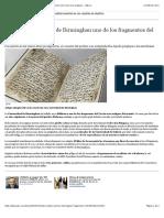 El Corán Más Antiguo de Arabia