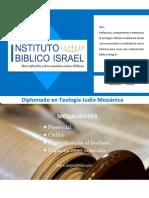 Brochure_Diplomado Judio Mesianico Ok