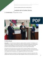 31-01-2019 - Anuncian séptima edición de la Cumbre Sonora - Uniradionoticias.com