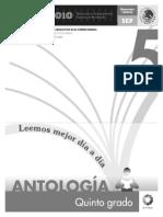 5o Antologia Lecturas