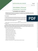 Bolsa Empleo_Admitidos_Excluidos y Baremación Provisional