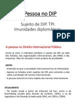 Aula 8 - A Pessoa No Direito Internacional Público