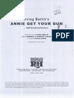 148772229 Berlin Annie Get Your Gun Score 1999 (1)