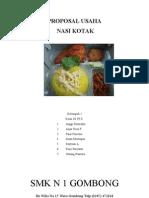 Proposal Usaha Nasi Kotakedit