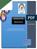 adhesivos  dentaless 111