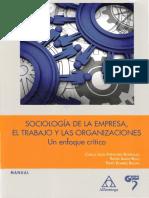 Sociología de La Empresa - Cap1