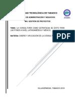 La Consultoría Como Estrategia de Éxito Para Las Pymes a Nivel Latinoamérica y México