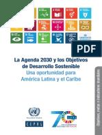 Cepal Agenda Ods 2030_es