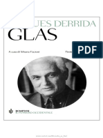 Jacques Derrida - Glas. Campana a morto (Bompiani - Il pensiero occidentale).pdf