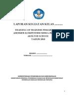 FORMAT LAPORAN TOT PEMANFAATAN AKSI FOR SCHOOL KELAS MAPEL.doc