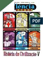 CIENCIA EM QUADRINHOS 15 - História da Civilização V.pdf