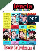 CIENCIA EM QUADRINHOS 24 - História da Civilização VI.pdf