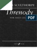 Threnody Peter Sculthorpe Cello Solo (Trascinato)