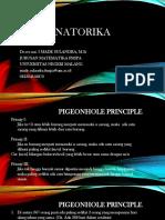 Kombinatorika Prinsip Sarang Merpati MJKT