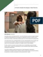 03-02-2019 - Cuenta Sonora con el Centro Estatal Oncológico