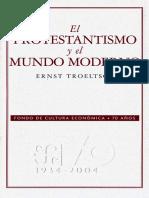 Nc-el Protestantismo y Modernidad