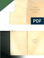 Arquitectura Do Livro