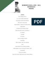 Roberto Sosa Poesía