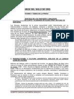 Resumen Tema Vi - Perspectivismo y Temas en La Prosa