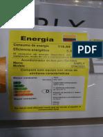 Aire Etiqueta Energetica Colombia Exito Simply SYAC9221