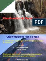 Clasificación de Rocas Ígneas