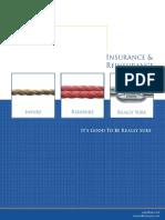 Insurance Re Insurance Brochure