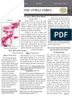 The TYWLS Times - October 2018 Edition
