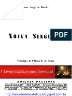 Mons Luigi de Marchi_Noiva Singular_Vida de Santa Inês