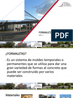 Presentacion power point formaletas clase estructuras
