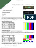 Barras de Color TV
