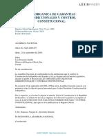 Constitucionalismo en Ecuador