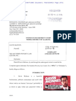 Mcinnes v SPLC Doc 1