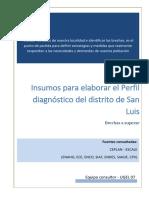 Diagnóstico Educativo distrito de San Luis