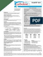 Plasite 4310 PDS 1-06