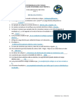 Prueba Diagnóstica - Solución