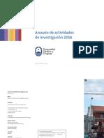 Anuario de Investigacion 2016 Esp