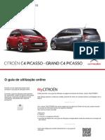 2015 Citroen c4 Picasso Manual de Utilizador