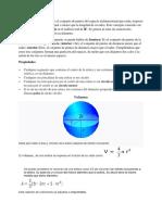Documento Sólido Esférico