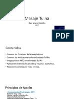 Clase Tuina Ejercicios