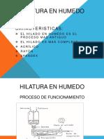 HILATURA HUMEDA