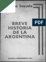 IRAZUSTA Julio - Breve Historia de La Argentina