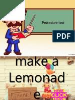 How to Make a Lemonade
