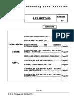 M2-TP4 Résistance à La Compression NF en 12390-3 P18-455