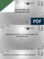 Introducción a la ingeniería de yacimientos