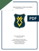 Informe de Laboratorio. Gustavo Ulloa